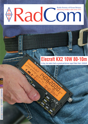 Current radcom front cover